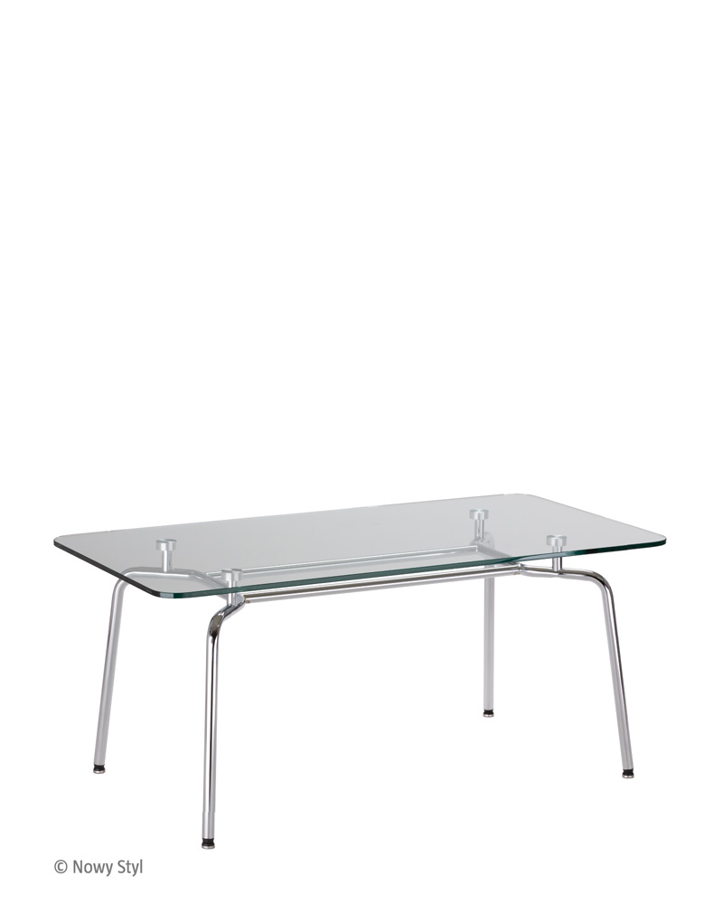 HELLO! DUO table GL chrome
