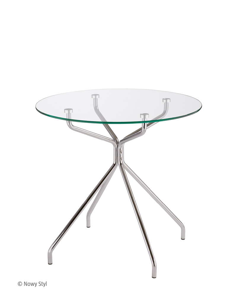 MELLO table chrome